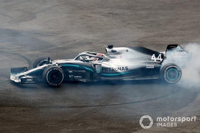 "Mercedes AMG F1 W10 (2019) <span class=""copyright"">Steven Tee / Motorsport Images</span>"
