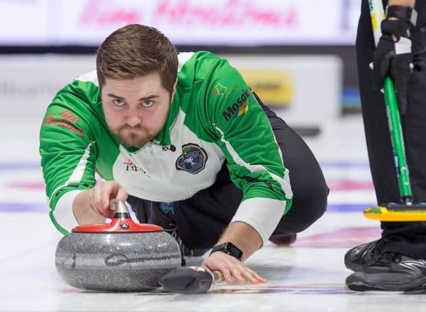 Matt Dunstone, the skip for Team Dunstone, said the team has done everything it can to qualify for the Olympic trials in Saskatoon. (Andrew Vaughan/Canadian Press - image credit)