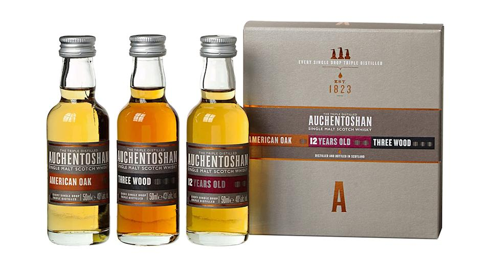 Auchentoshan Single Malt Whisky Gift Set