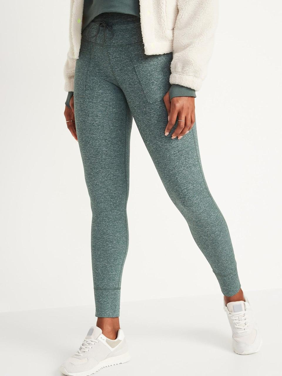 <p>These <span>High-Waisted CozeCore Jogger Leggings</span> ($30, originally $37) are the type I'll keep on all day long. </p>