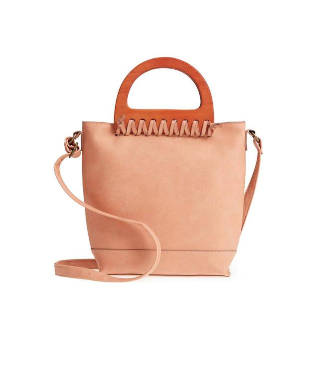 "<p>Wood-Handle Stitched Tote, $38, <a href=""https://shop.nordstrom.com/s/t-shirt-jeans-wood-handle-stitched-tote/4923406?origin=category-personalizedsort&fashioncolor=CLAY"" rel=""nofollow noopener"" target=""_blank"" data-ylk=""slk:nordstrom.com"" class=""link rapid-noclick-resp"">nordstrom.com</a> </p>"