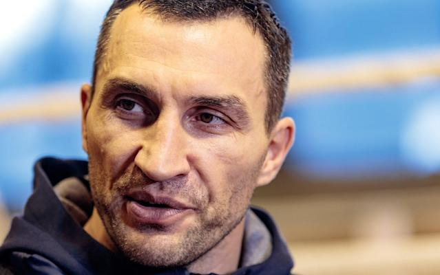 <span>Klitschko has said he has respect for opponent Anthony Joshua</span> <span>Credit:  Rex Features </span>