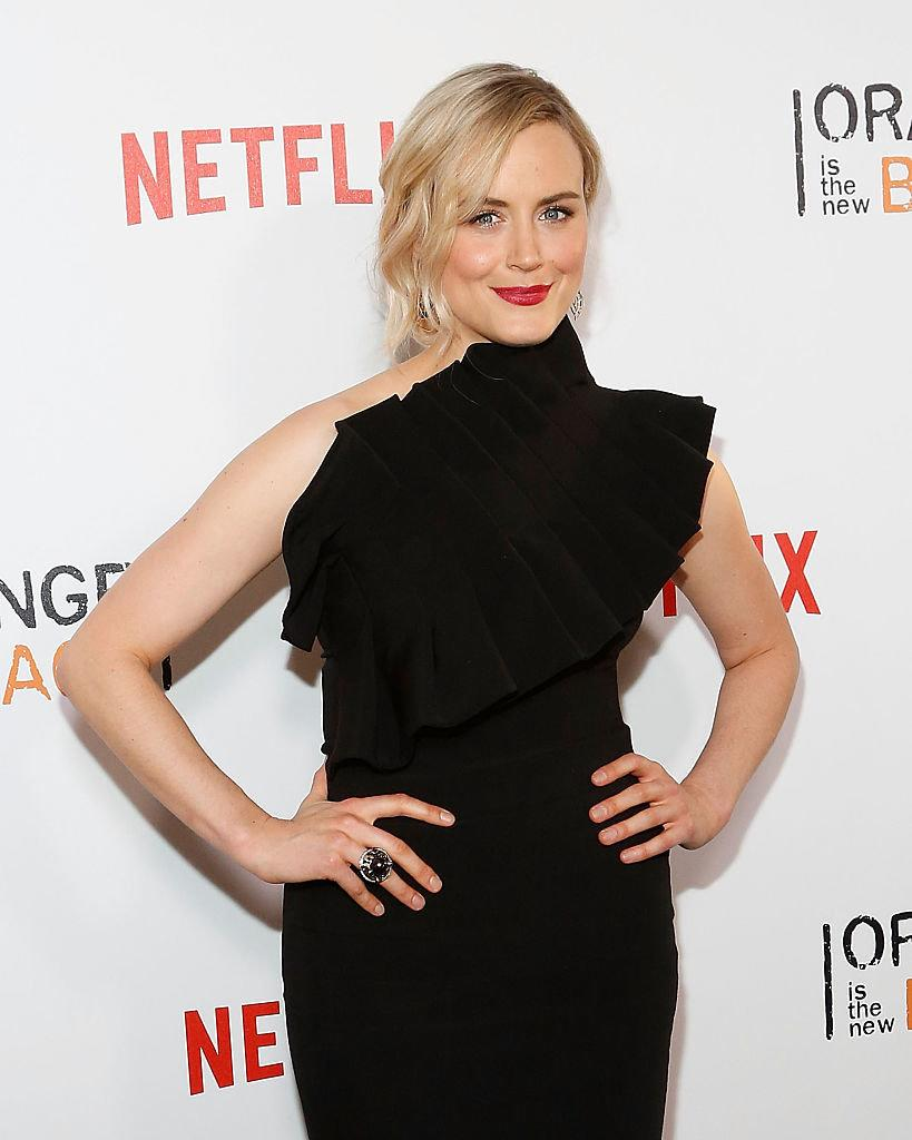 """Taylor Schilling, who plays Piper Chapman, attends the premiere of """"Orange is the New Black"""" on June 16, 2016, at SVA Theater in New York City. (Photo: Taylor Hill/FilmMagic)"""