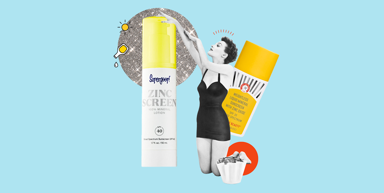 """<p>Fun lil fact about me: <strong>I only use mineral <a href=""""https://www.cosmopolitan.com/style-beauty/beauty/g20965310/natural-organic-sunscreen-brands/"""" target=""""_blank"""">sunscreens</a>—specifically ones made with zinc oxide.</strong> No shade to chemical sunscreens—any SPF is better than no SPF—but zinc sunscreen is my preferred sunscreen for three important reasons: (1) Zinc is non-irritating and anti-inflammatory, making it ideal for <a href=""""https://www.cosmopolitan.com/style-beauty/beauty/g26015502/sunscreen-for-sensitive-skin/"""" target=""""_blank"""">sensitive</a> and acne-prone skin (hi, I'm blessed with both); (2) It protects skin from UVA <em>and </em>UVB rays, whereas the majority of chemical filters only do one or the other; and (3) Zinc is considered a """"clean"""" sunscreen ingredient that's safe for both you and the environment. Basically, you have no reason to <em>not </em>slather yourself in a zinc sunscreen today. And to help you get started on your new SPF love, I rounded up my nine favorites, below. </p>"""