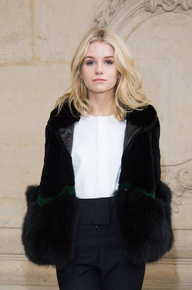 Lottie Moss attends the Christian Dior show as part of the Paris Fashion Week Womenswear Fall/Winter 2017/2018 on March 3, 2017 in Paris, France. (Photo: Getty Images)