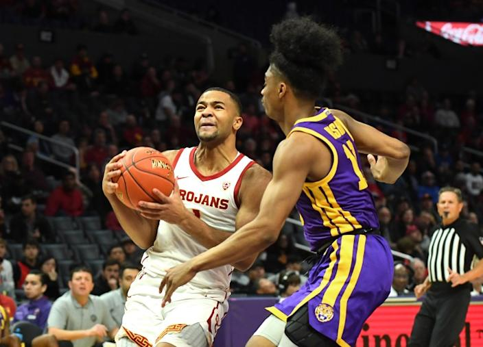 """Kyle Sturdivant is entering the NCAA transfer portal after having to mourn the death of his father in the middle of his freshman season at USC. <span class=""""copyright"""">(Jayne Kamin-Oncea / Getty Images)</span>"""