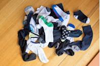"""<p>Everyone has a sock drawer with at least a handful of single socks that lost their partner somewhere along the way. Maybe the laundry gnomes got to them, or maybe it was the family pet. Either way, the only reason to hold onto single socks is to <a href=""""https://www.goodhousekeeping.com/home/cleaning/tips/a26239/new-uses-socks/"""" rel=""""nofollow noopener"""" target=""""_blank"""" data-ylk=""""slk:get crafty"""" class=""""link rapid-noclick-resp"""">get crafty</a> and repurpose them.</p><p><a class=""""link rapid-noclick-resp"""" href=""""https://www.amazon.com/adidas-Womens-Superlite-Socks-6-Pack/dp/B077XNC7K8/ref=sr_1_42?tag=syn-yahoo-20&ascsubtag=%5Bartid%7C10070.g.30809532%5Bsrc%7Cyahoo-us"""" rel=""""nofollow noopener"""" target=""""_blank"""" data-ylk=""""slk:SHOP NEW SOCKS"""">SHOP NEW SOCKS</a></p>"""