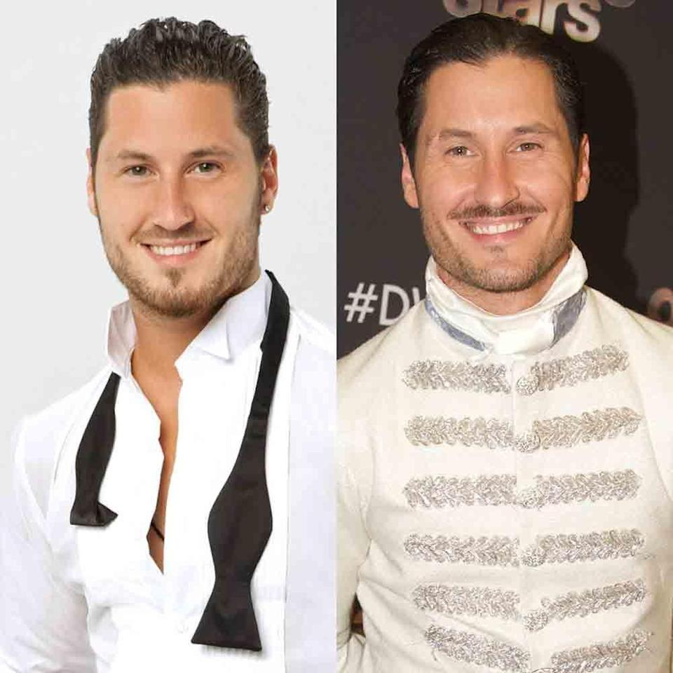 """<p>Val has appeared on 15 seasons of <em>DWTS</em>, with his first being in 2011 for season 13. Maks' younger brother wasn't on the 26th season because he was too busy with his <a href=""""http://maksandvaltour.com"""" rel=""""nofollow noopener"""" target=""""_blank"""" data-ylk=""""slk:MVP Confidential tour"""" class=""""link rapid-noclick-resp"""">MVP Confidential tour</a> with his brother and sister-in-law Peta. Val <a href=""""https://people.com/celebrity/val-chmerkovskiy-jenna-johnsons-wedding-photos/"""" rel=""""nofollow noopener"""" target=""""_blank"""" data-ylk=""""slk:married fellow pro Jenna Johnson"""" class=""""link rapid-noclick-resp"""">married fellow pro Jenna Johnson</a> in April, but they are both still on the show. </p>"""