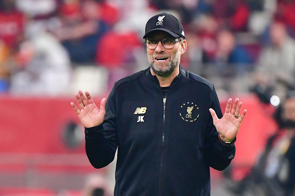 Jurgen Klopp's Liverpool put in a sloppy performance against Wolves on Sunday, and fixture fatigue no doubt played a part. (Photo by GIUSEPPE CACACE/AFP via Getty Images)