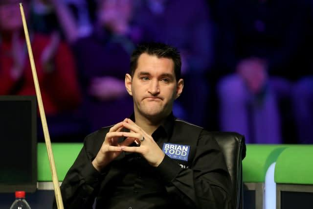 Qualifier Tom Ford will face Judd Trump on the opening day at the Crucible (Richard Sellers/PA)