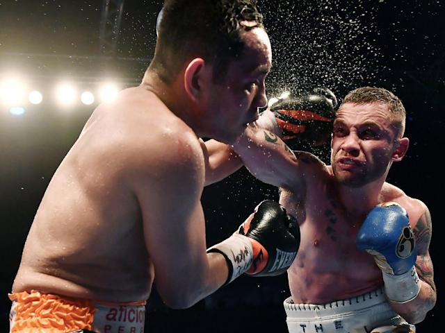 Frampton put on a show in front of his home crowd: Getty