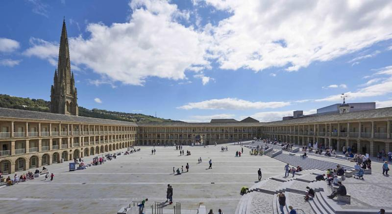 The Piece Hall is a must-visit in Halifax (Getty Images)