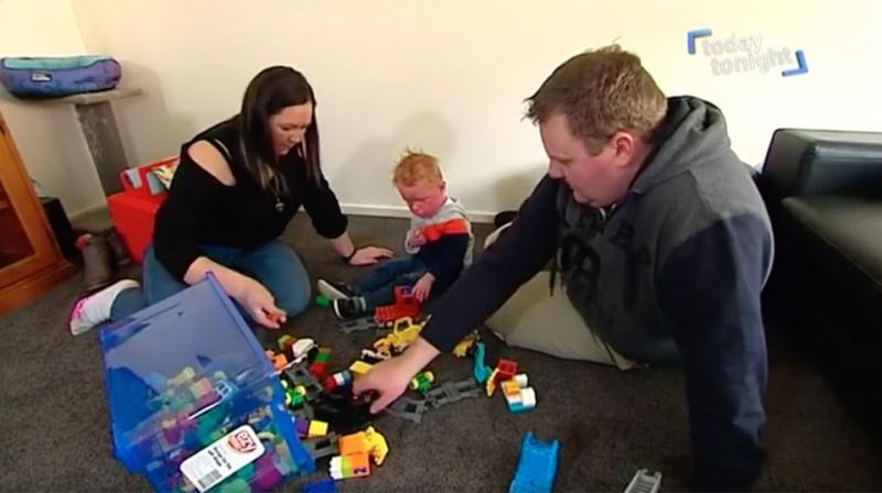 The family fear what the future holds for Chaz and his rare condition. Source: Today Tonight