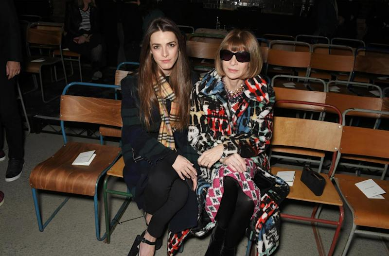 Anna Wintour and her daughter (Dave Benett)
