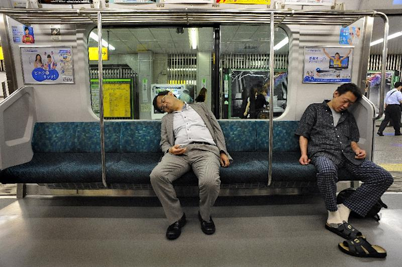 About 60 percent of some 3,000 annual cases involving passengers falling onto train tracks in Japan were due to alcohol, according to the transport ministry