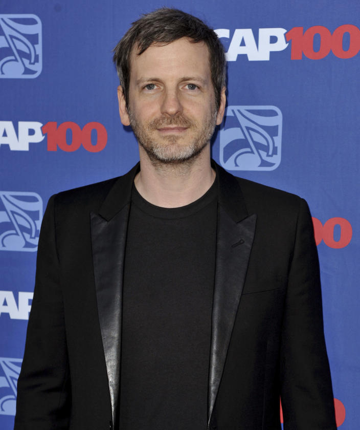 """FILE - In this April 23, 2014 file photo, Dr. Luke arrives at the 31st Annual ASCAP Pop Music Awards at the Loews Hollywood Hotel in Los Angeles. Pop singer Kesha made a false claim that Dr. Luke raped Katy Perry when there's """"no evidence whatsoever"""" that he did, a judge ruled this week while sending a long-running clash between Kesha and her former mentor toward trial. Kesha's lawyers said in a statement that they plan to appeal Thursday's ruling, which also says she owes the prominent producer over $373,000 in interest on royalties she paid him years late. (Photo by Richard Shotwell/Invision/AP, File)"""
