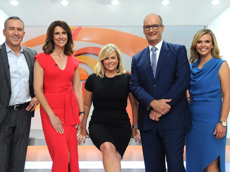 All-white lineup on Sunrise after Australia Media Diversity finds gross diversity failing
