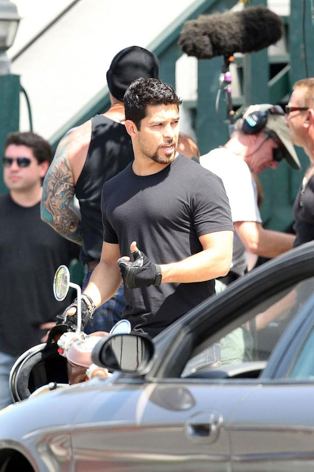 "Former ""That '70s Show"" actor Wilmer Valderrama also has a role in the flick, which features an eclectic cast including Cedric The Entertainer, Bryan Cranston, Nia Vardalos, and Taraji P. Henson. James Breeden/Matt Smith/<a href=""http://www.pacificcoastnews.com/"" target=""new"">PacificCoastNews.com</a> - June 4, 2010"