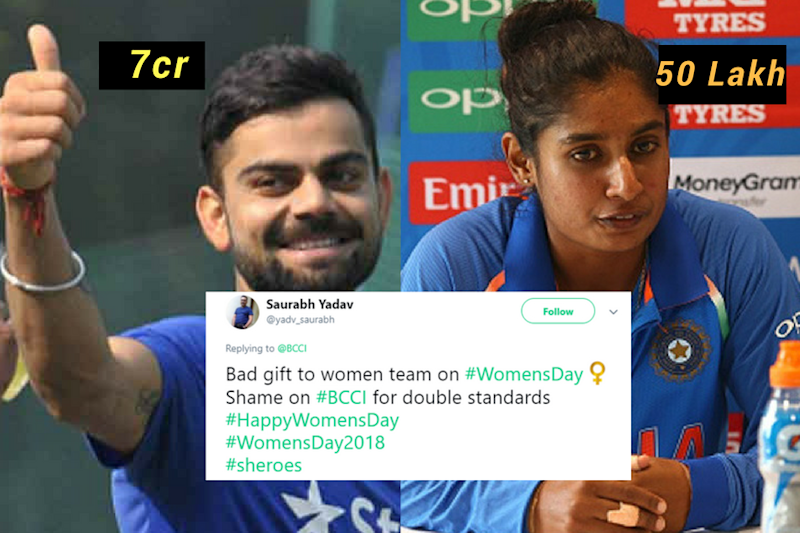 Pay Gap Between Female and Male Cricketers Has Caused Outrage on Twitter