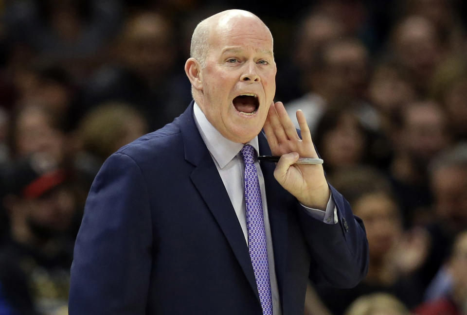 Hornets coach Steve Clifford is stepping away from the team to address his health. (AP)
