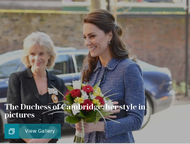 The Duchess of Cambridge: her style in pictures