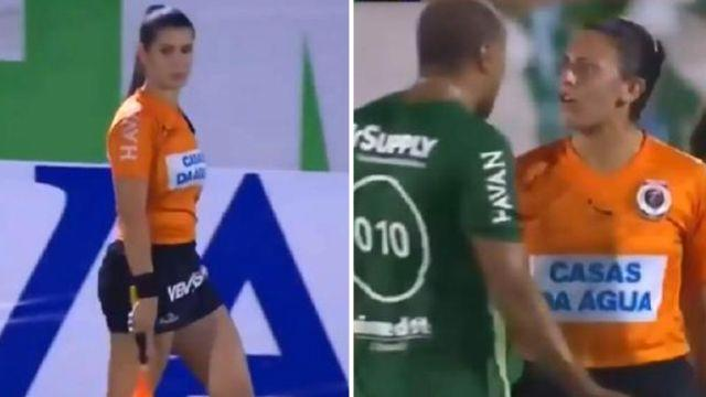 Not on or just a bit of fun? Image: SporTV
