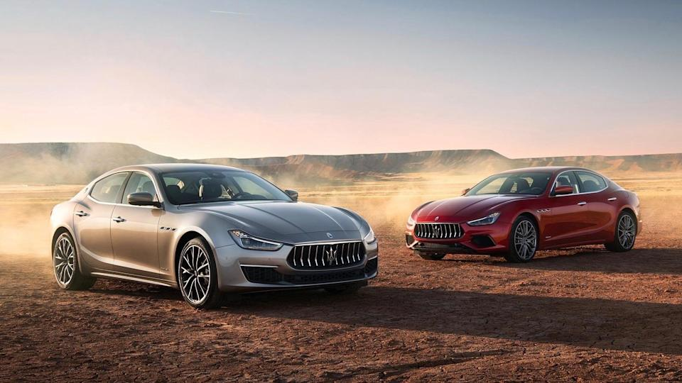 <p><strong>2019 Maserati Ghibli:</strong></p> <p>Retail Price: <strong>$78,780</strong><br> Average Transaction: <strong>$68,708</strong><br> Savings: <strong>$10,072</strong><br> Percentage Discount: <strong>12.8%</strong></p> <hr> <p><strong>2019 Maserati Levante:</strong></p> <p>Retail Price: <strong>$83,534</strong><br> Average Transaction: <strong>$74,090</strong><br> Savings: <strong>$9,445</strong><br> Percentage Discount: <strong>11.3%</strong></p>