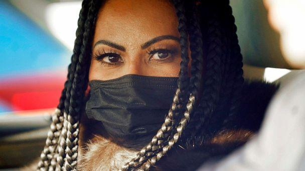 PHOTO: Jen Shah, a cast member from the reality TV series 'The Real Housewives of Salt Lake City' looks on while being driven from the federal courthouse on March 30, 2021 in Salt Lake City.   (Rick Bowmer/AP)