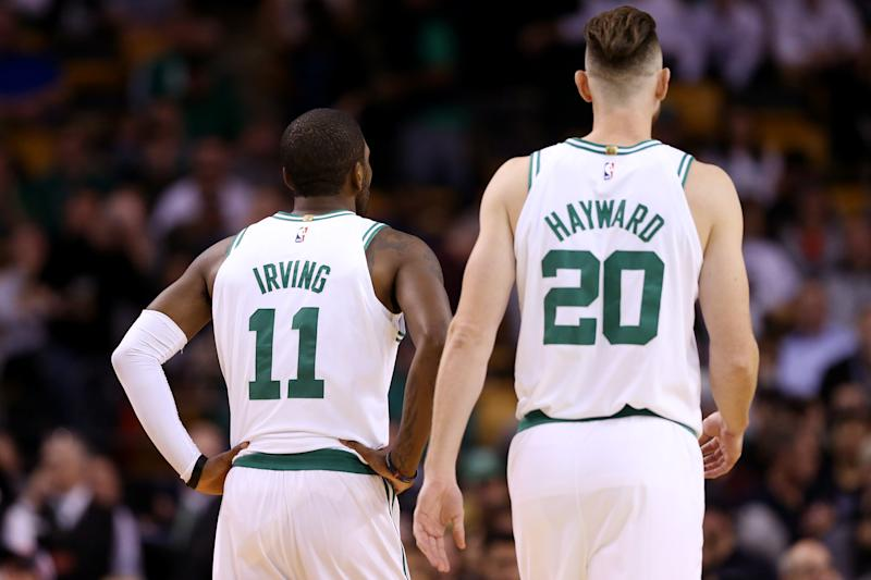 91162d29f7d Kyrie Irving had Gordon Hayward committed to Cleveland