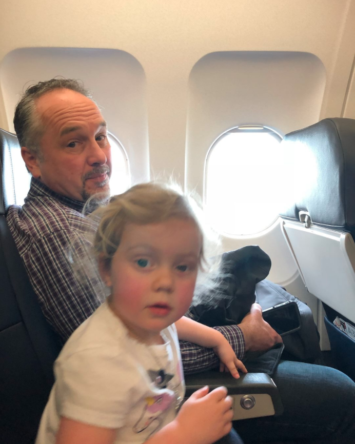 A mum's description of traveling with toddlers has gone viral. Photo: Facebook/Jessica Rudeen