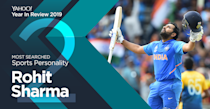 From five hundreds in a single World Cup (gulp!) to staking a strong claim on one half of India's Test opening combination, the 'Hitman' had a great year with the bat. Oh, and he also won Mumbai Indians their record fourth IPL crown in 2019.
