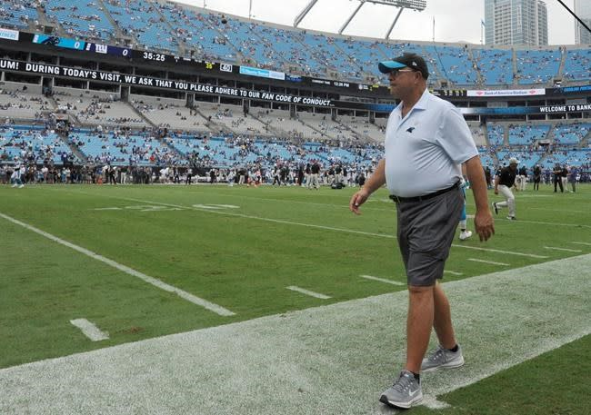 Panthers owner frustrated over not having fans at NFL opener