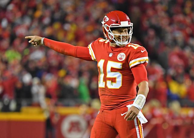Patrick Mahomes was selected for the first of what could be many Pro Bowl nods. (Getty)