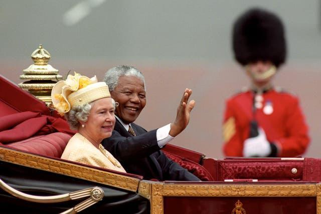 The Queen and Nelson Mandela