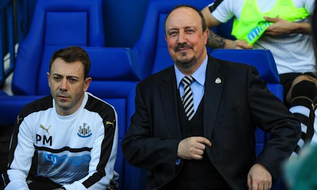 """<span class=""""element-image__caption"""">Rafael Benítez turns 57 on Sunday, but his focus is on Newcastle's Championship matches against Leeds and Ipswich over the Easter weekend.</span> <span class=""""element-image__credit"""">Photograph: Serena Taylor/Newcastle Utd via Getty Images</span>"""