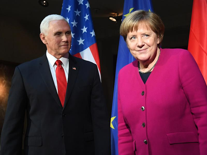 Pence Asked Merkel to Provoke Russia by Sending Warships to Crimea
