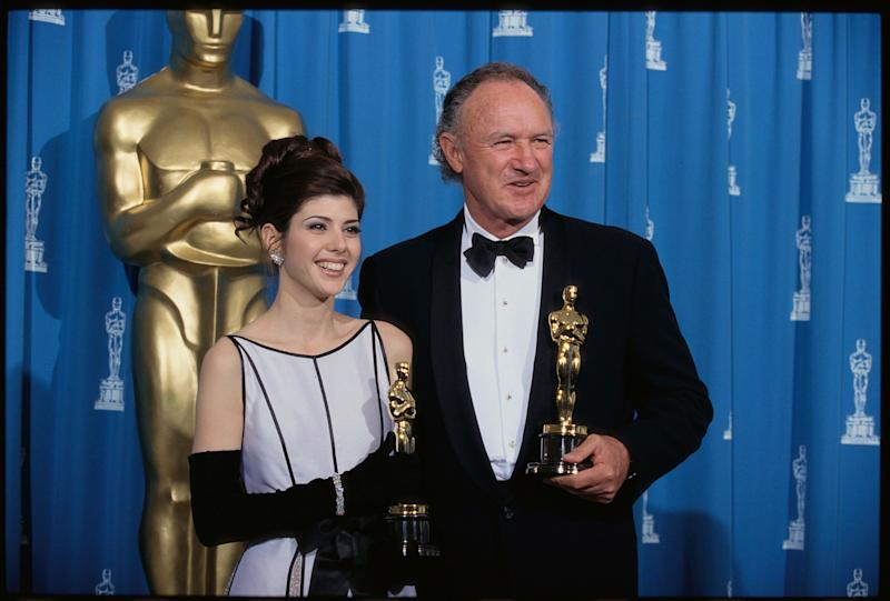 At the 1993 Academy Awards, Marisa Tomei and Gene Hackman won Oscars in the Best Supporting Actress and Actor categories.