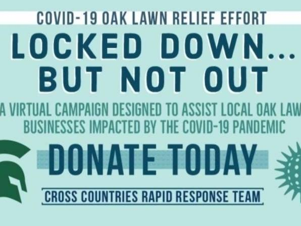 Oak Lawn Community High School Cross Countries service club holds online campaign for Oak Lawn businesses affected by coronavirus pandemic.