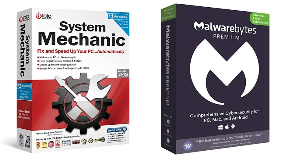 System Mechanic and MalwareBytes Premium Multi-Device