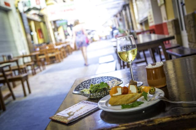 Tapas in the Old Town