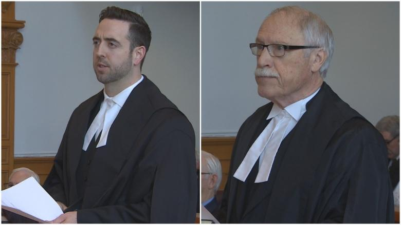 Andrew Parsons, Felix Collins sworn in as Queen's Counsel