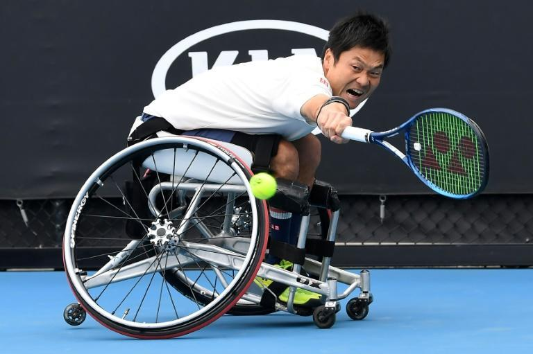 Japan's Shingo Kunieda is one of the world's most decorated wheelchair tennis players