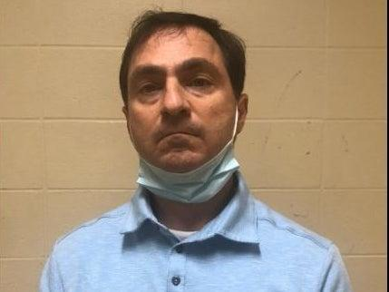 Dr Shane McKinney, a pediatrician in Baton Rouge, Louisiana, allegedly attacked a college student and shouted the n-word at her. He was arrested and released on a $10,000 bond. (East Baton Rouge Sheriff's Office)