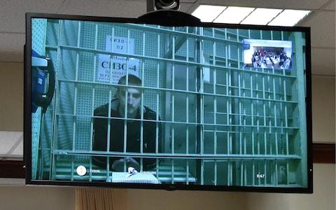 <span>Ustinov was initially jailed for six years</span> <span>Credit: Andrei Vasilyev\\TASS via Getty Images </span>