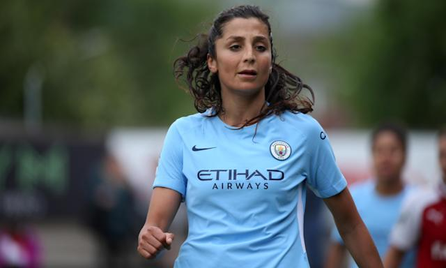 Denmark striker Nadia Nadim has struggled for form in her first season at Manchester City, and Chelsea have taken full advantage.