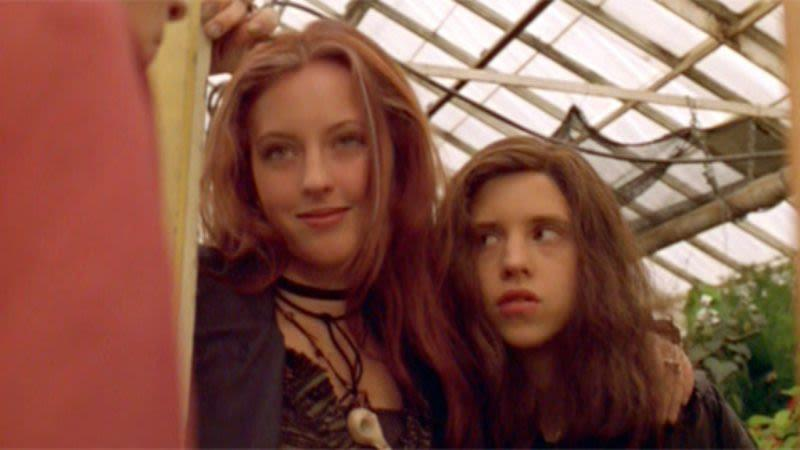 Katharine Isabelle and Emily Perkins