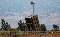 Israel's Iron Dome defence system is designed to intercept and destroy incoming short-range rockets and artillery shells (AFP Photo/JALAA MAREY)