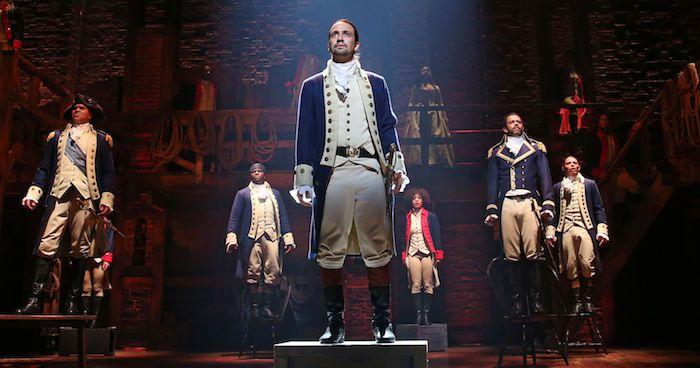 Lin-Manuel Miranda wrote the music, lyrics, and book for Hamilton.