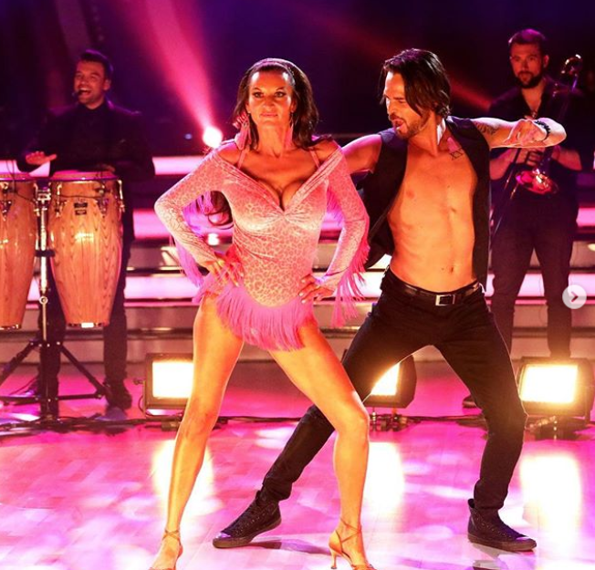 Cass was booted off Dancing With The Stars last night. Photo: Channel Ten