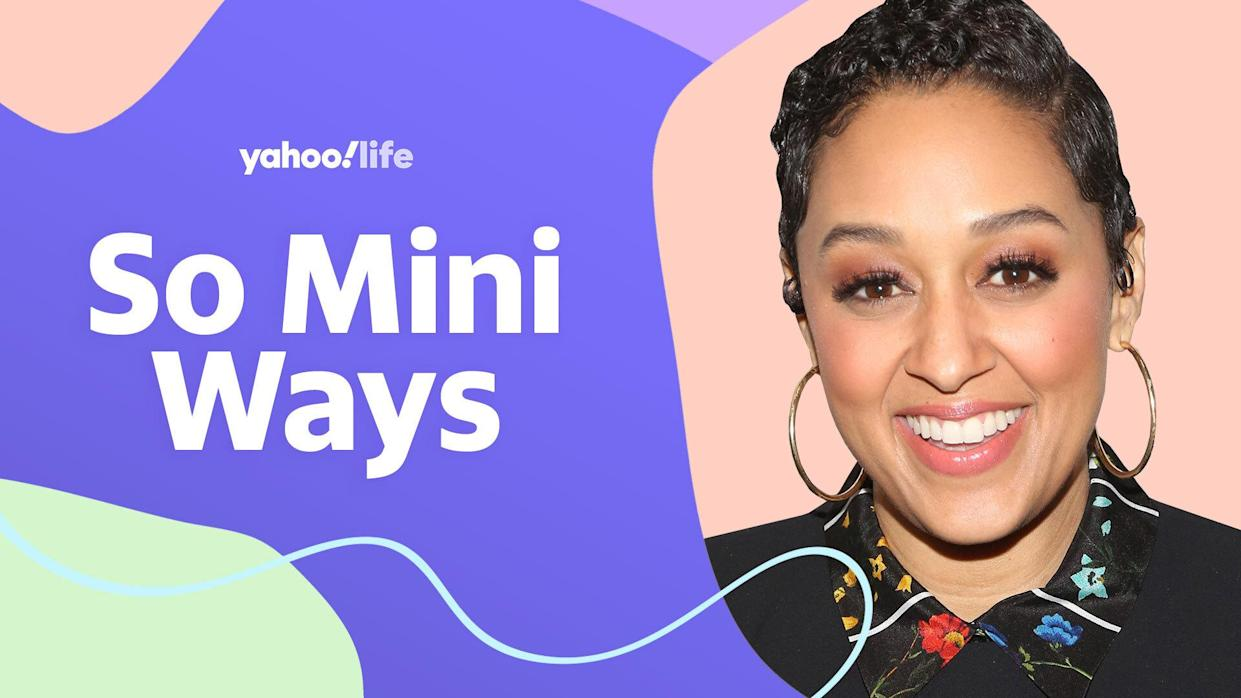 Tia Mowry opens up about parenting and cooking kid-friendly, lactose-free meals. (Photo: Getty Images; designed by Quinn Lemmers)